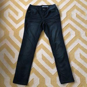 DKNY straight leg dark wash jeans